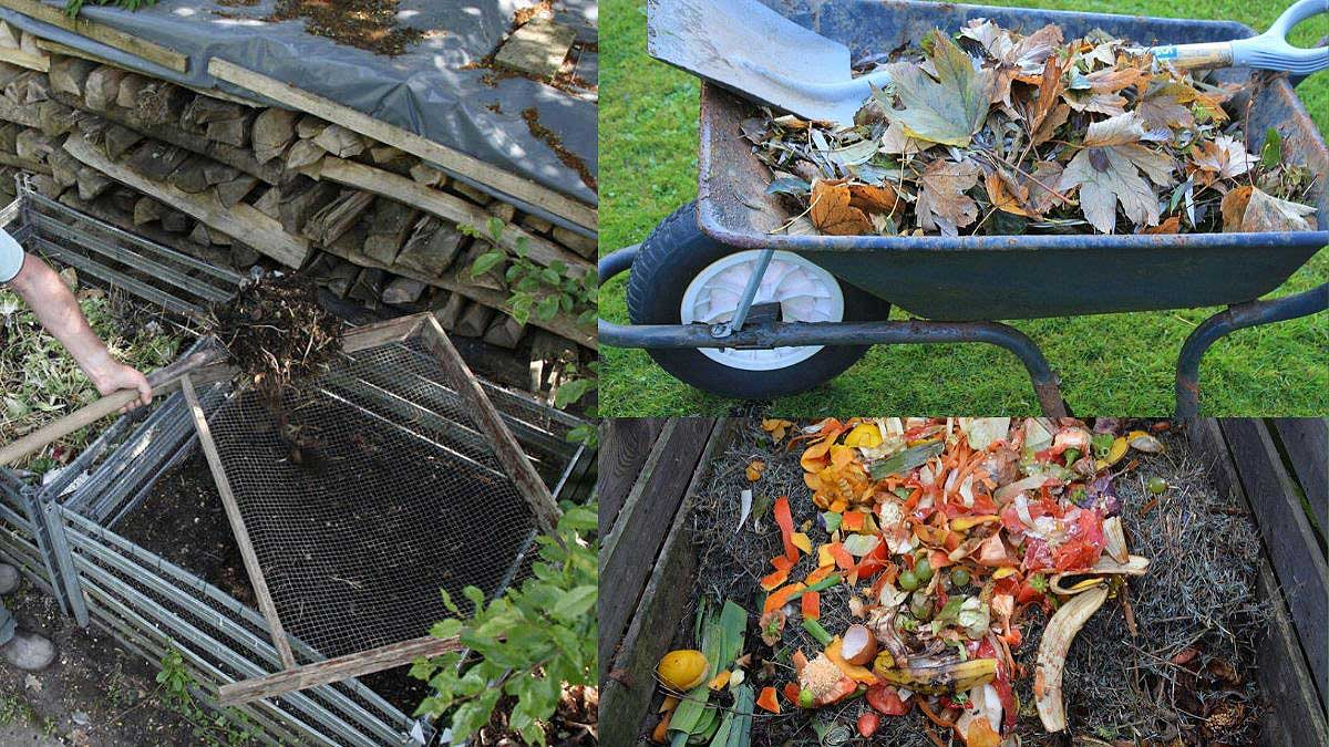 turning the compost is essential to keep maintaning compost piles in your backyard https://organicgardeningeek.com