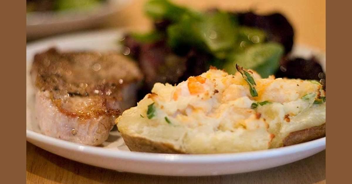 Double baked potatoes recipe