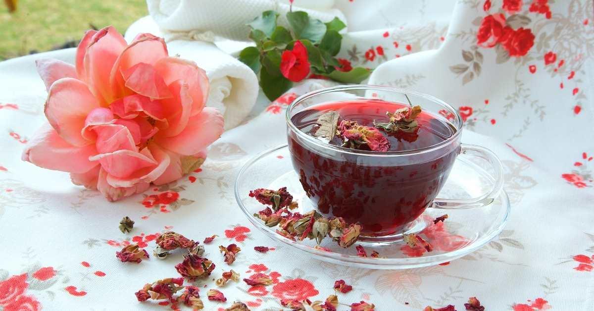 rose petal recipes https://organicgardeningeek.com