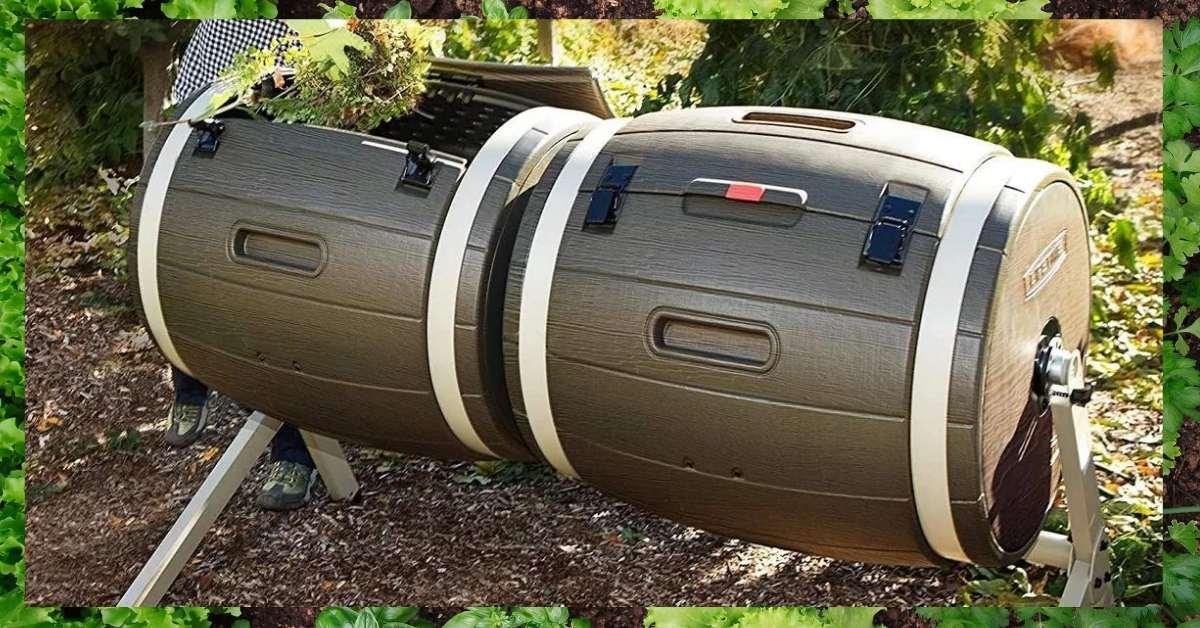 Composting bins for gardens review - Genuine Compost Tumbler Reviews https://organicgardeningeek.com