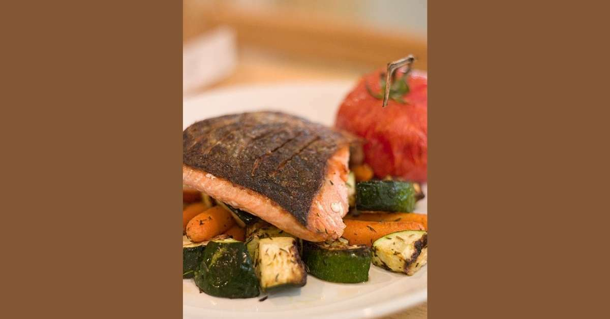Salmon healthy recipe https://organicgardeningeek.com