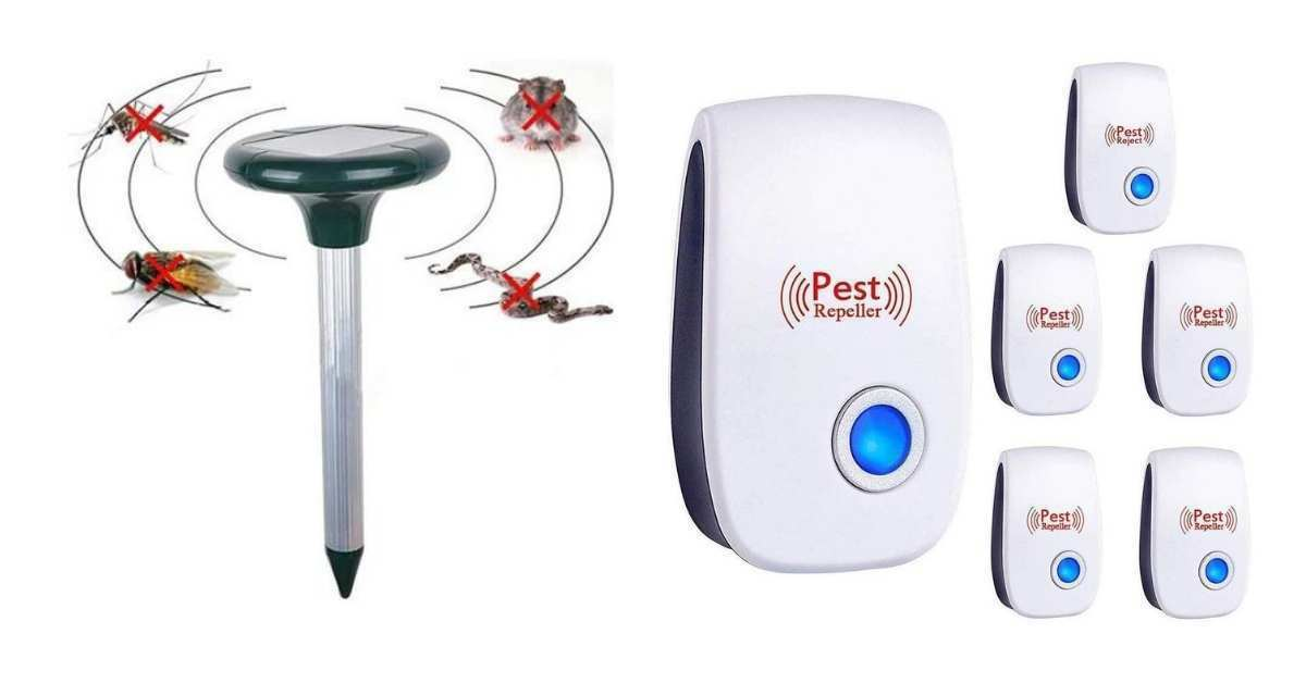 Electromagnetic pest control devices, Ultrasonic pest control devices, and Ionic pest controllers are the types used today.  How Do You Control Pests in the Garden https://organicgardeningeek.com